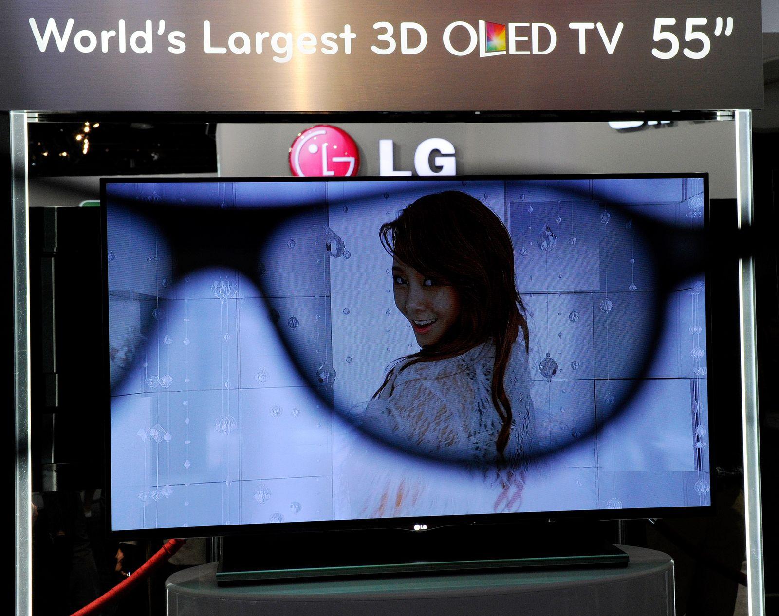 3D Fernseher / CES 2012