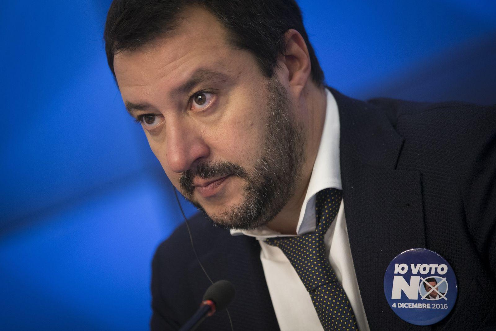 Referendum Italien / Matteo Salvini