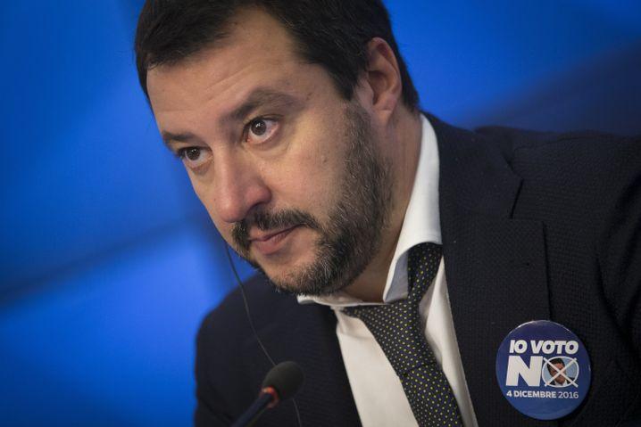 Lega-Nord-Parteichef Salvini (Archivbild)