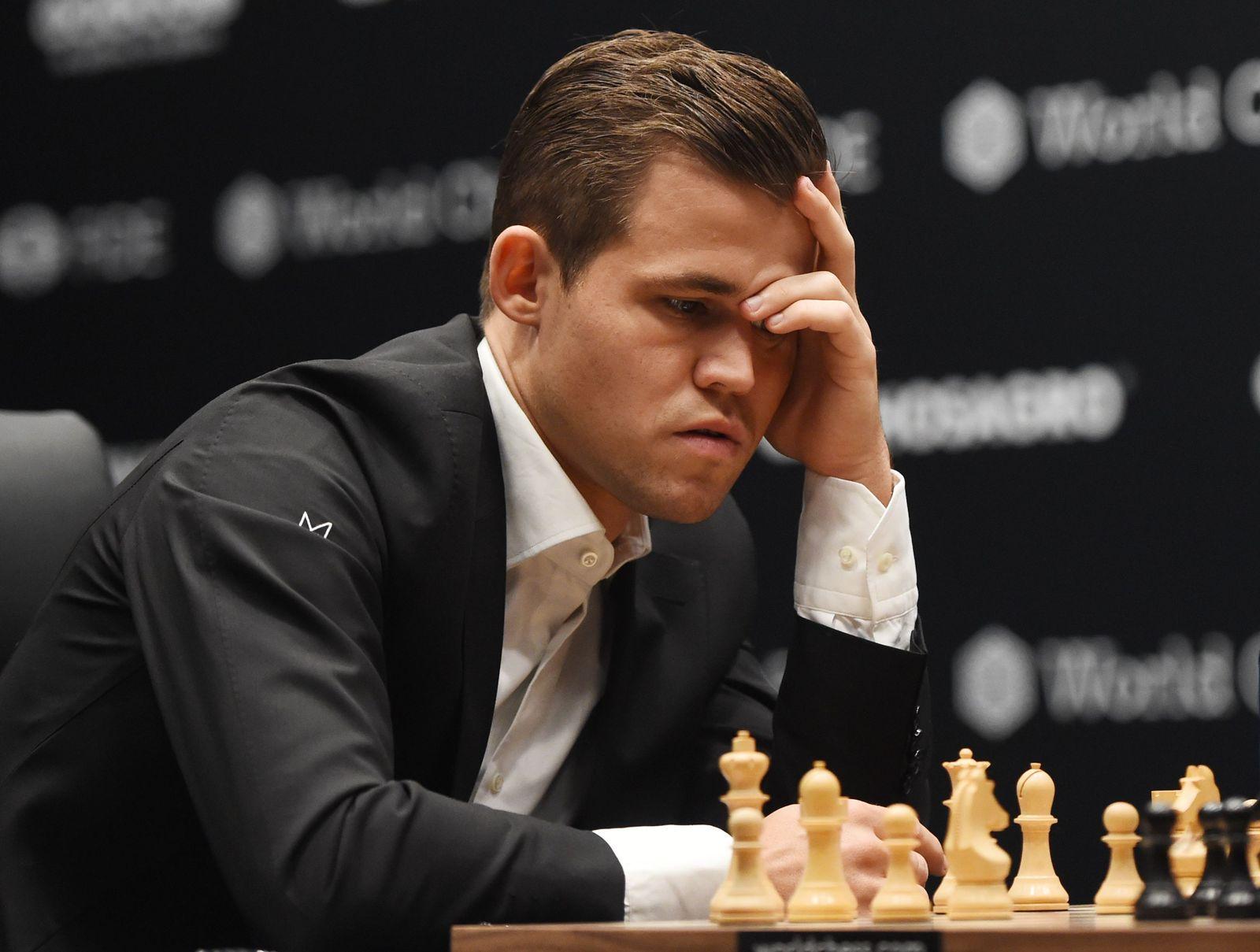 Schach-WM Magnus Carlsen