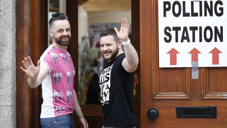 Volksentscheid: Mehrheit der Iren stimmt für die Homo-Ehe