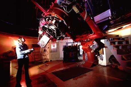 Auf der Suche nach dem Licht: Shelley Wright am Lick Observatory