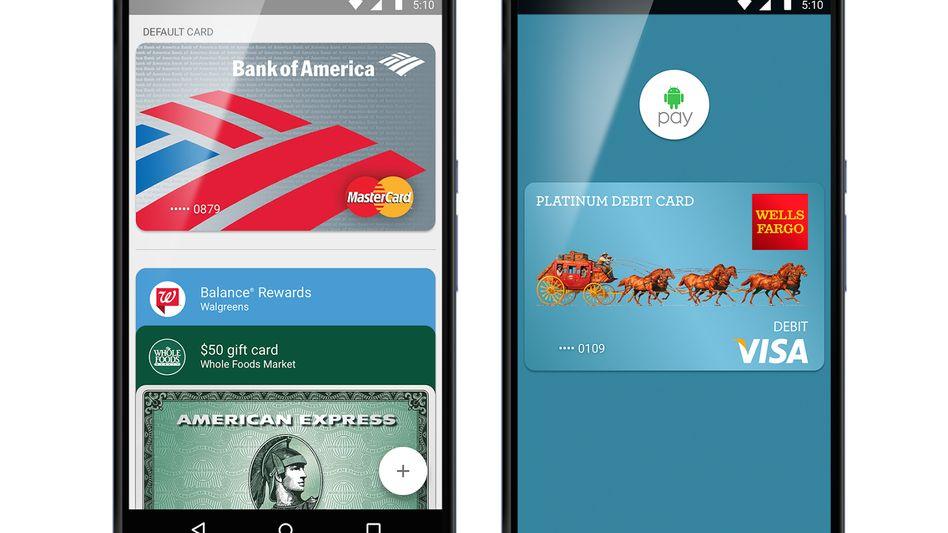 Google-Werbebild zu Android Pay: Seit Donnerstag in den USA nutzbar