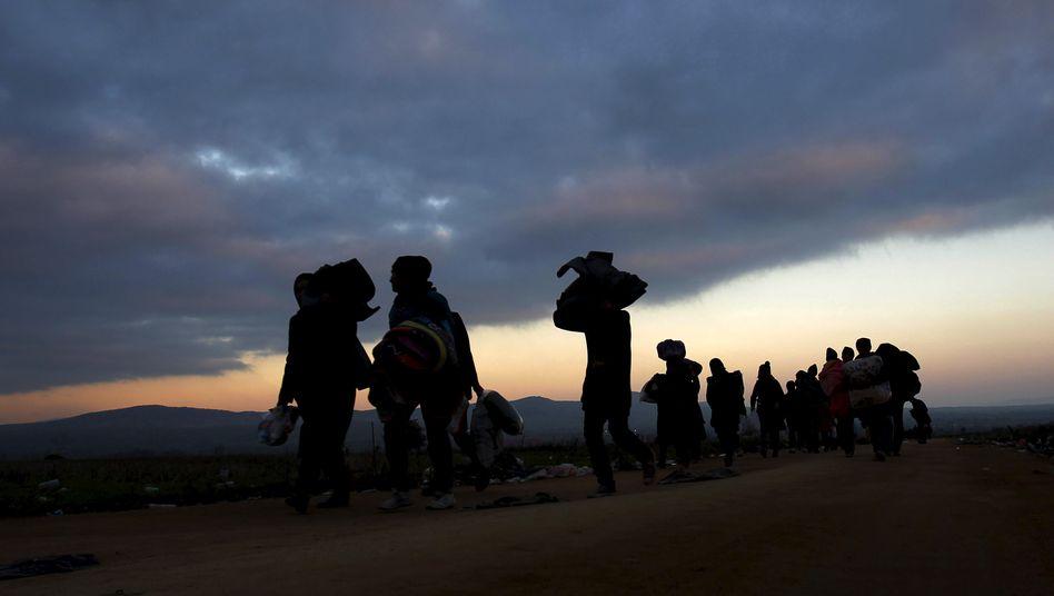 Flüchtlinge in Mazedonien: Migration ist ein gegebener Umstand