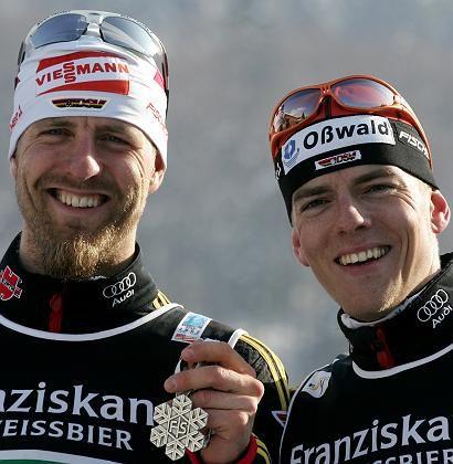 Teichmann, Filbrich: Silber im Teamsprint