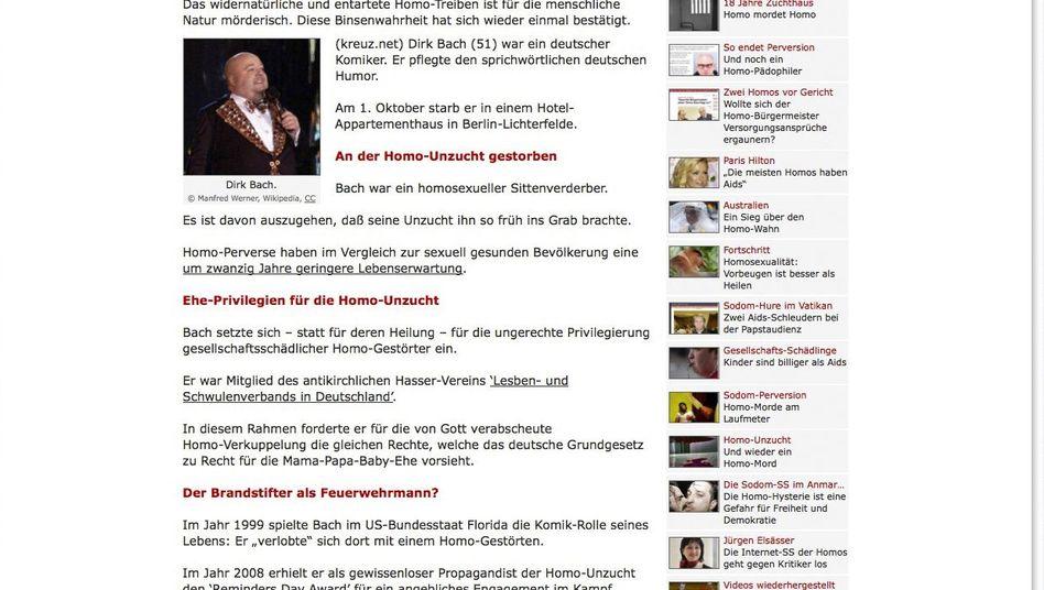 Hetzplattform Kreuz.net: Katholische Nachrichten?
