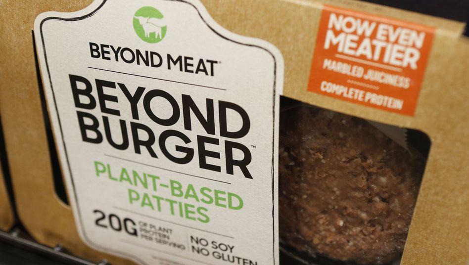Beyond-Meat-Produkt: Das Unternehmen stellt Fleischalternativen auf pflanzlicher Basis her