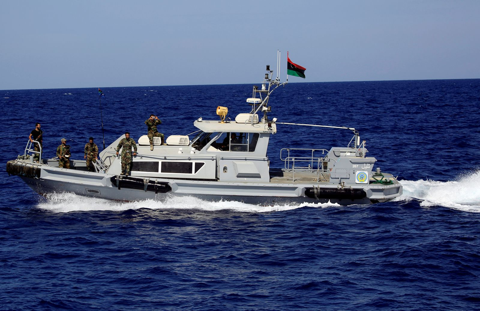 Libysche Küstenwache/ Libyen