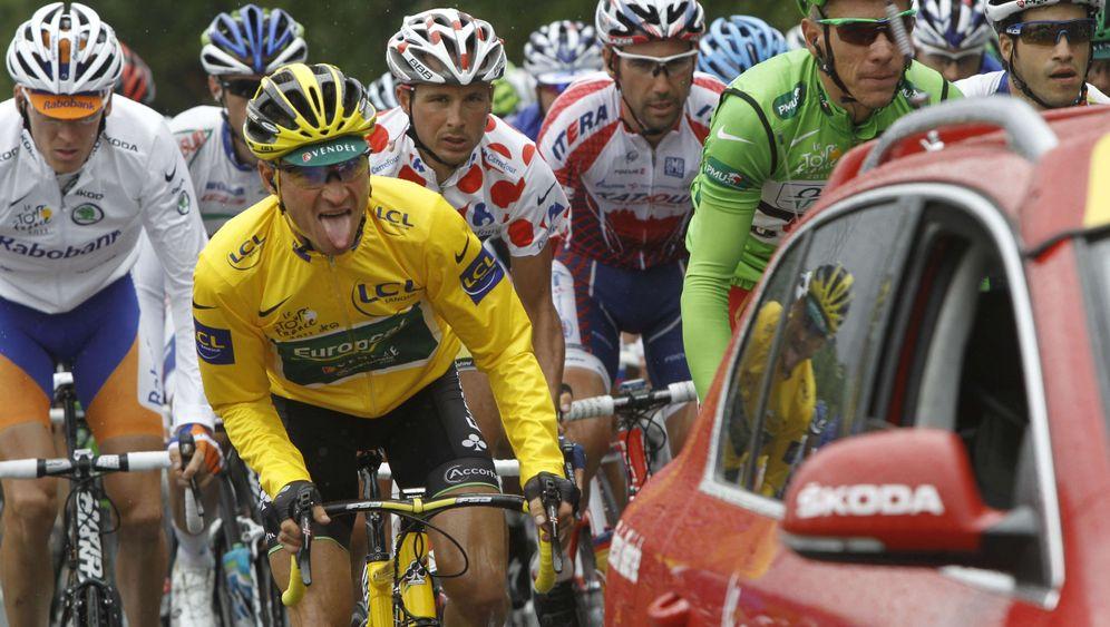 Elfte Tour-Etappe: Cavendish gewinnt das Dauerduell