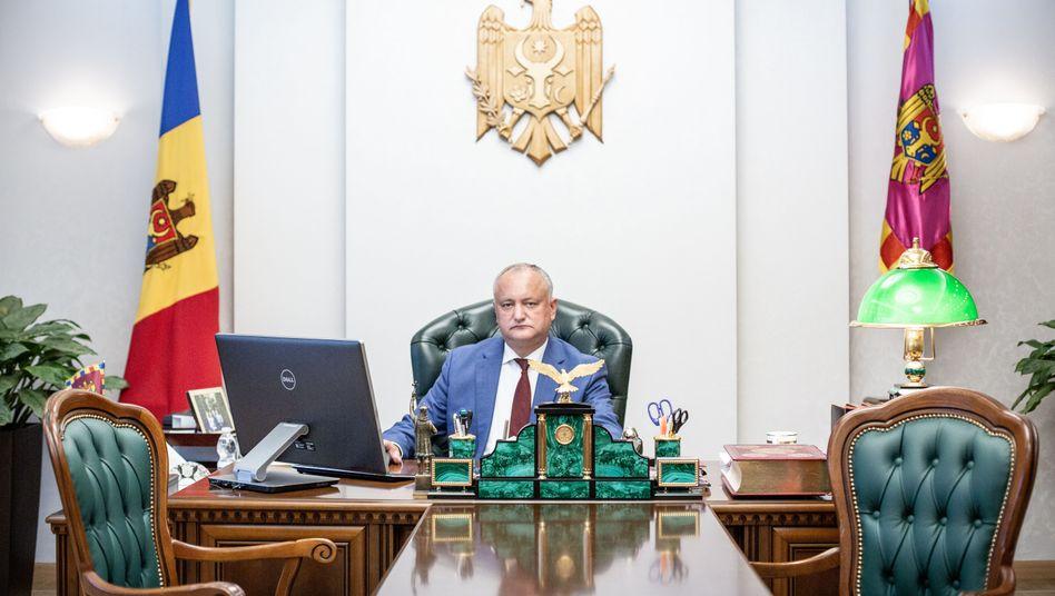 """Moldaus Staatspräsident Igor Dodon: """"Politik der kleinen Schritte"""""""