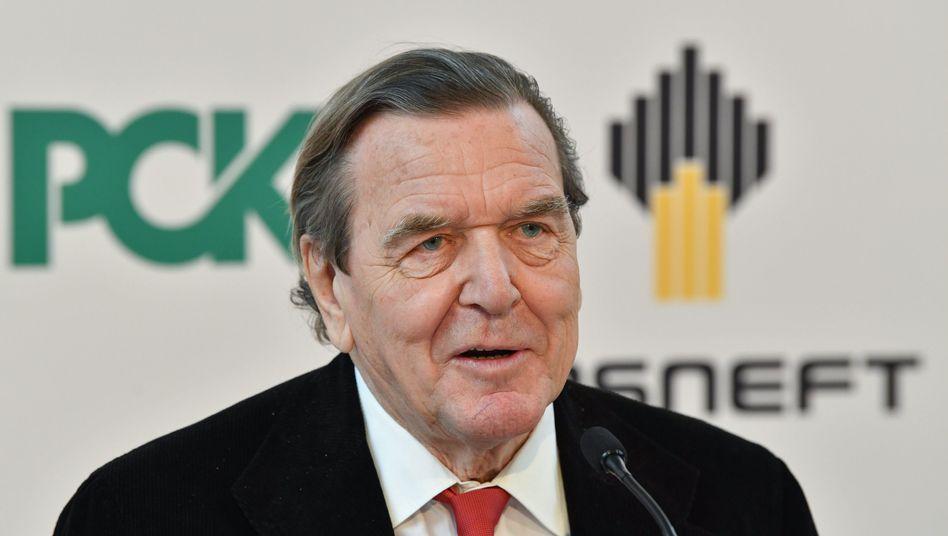 """Gerhard Schröder (im Januar 2018): """"Das Ergebnis bestätigt meine Skepsis"""""""