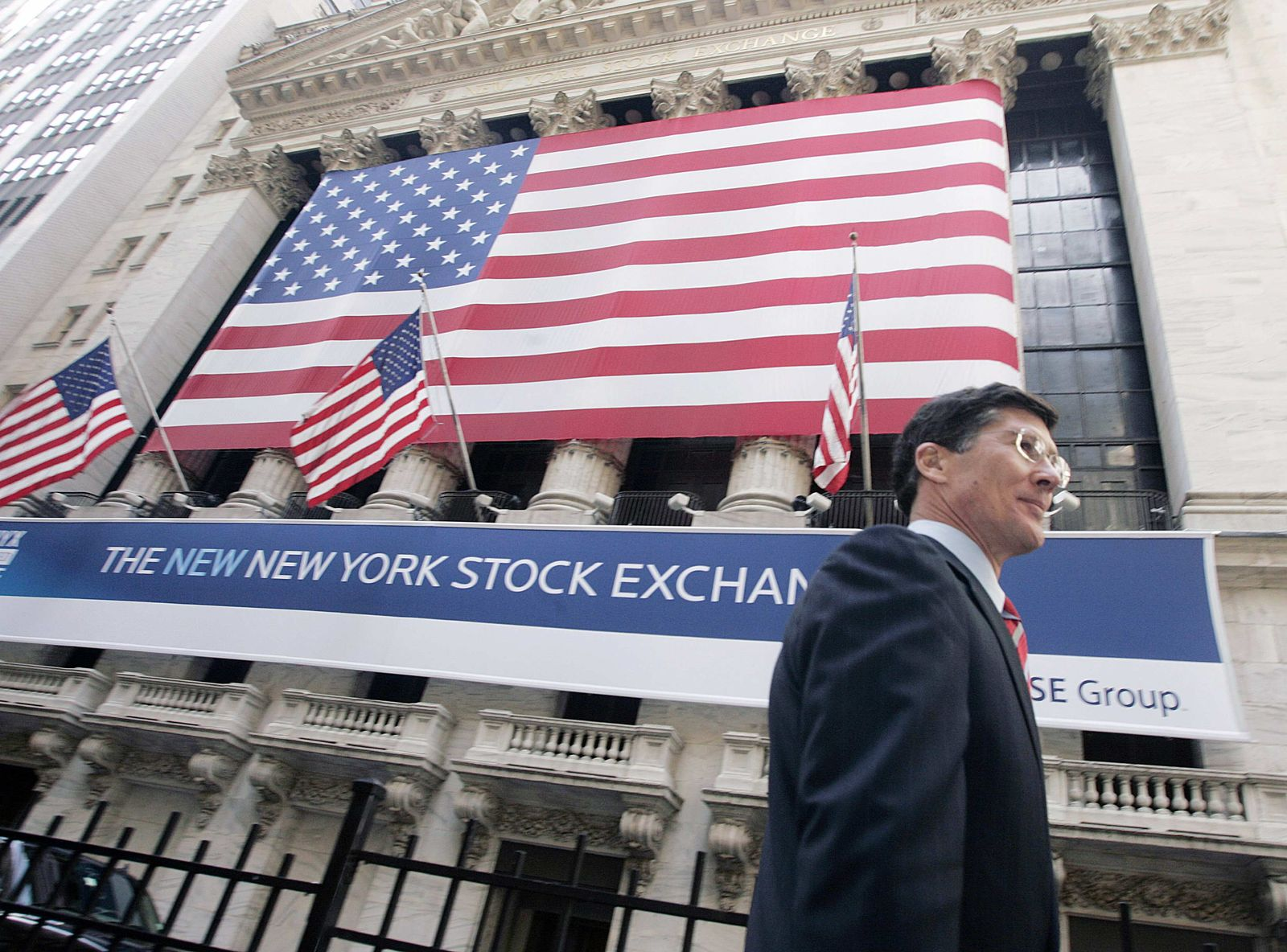 US-Börse von außen