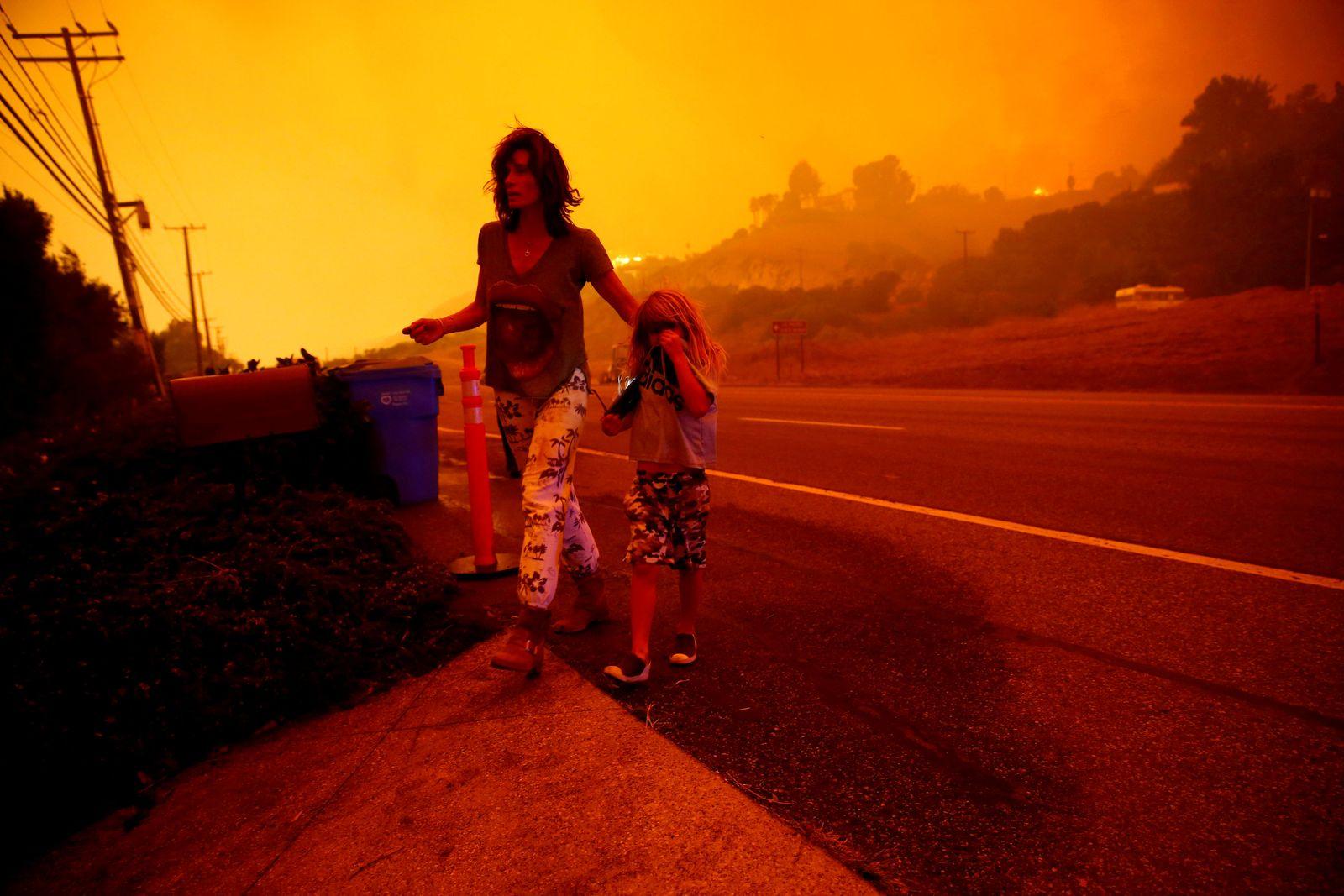 Kalifornien/ Brände