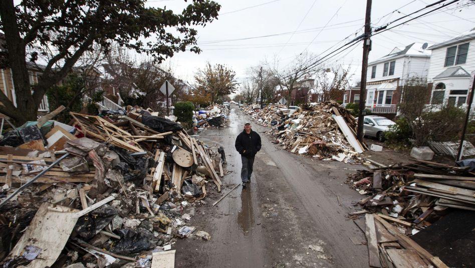 """Zerstörungen in New York nach Hurrikan """"Sandy"""": Nur ein Vorgeschmack der Zukunft?"""