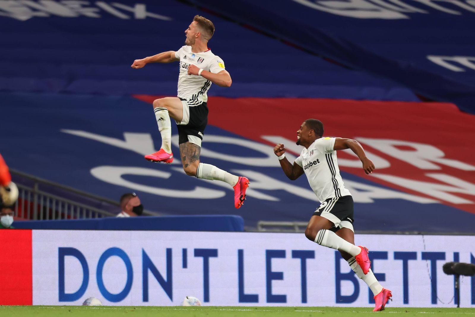 4th August 2020; Wembley Stadium, London, England; EFL Championship Playoff Football Final, Brentford versus Fulham; Jo