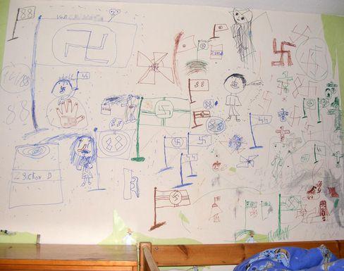 Nazi-Kritzeleien im Kinderzimmer: Keine Chance, Demokrat zu werden