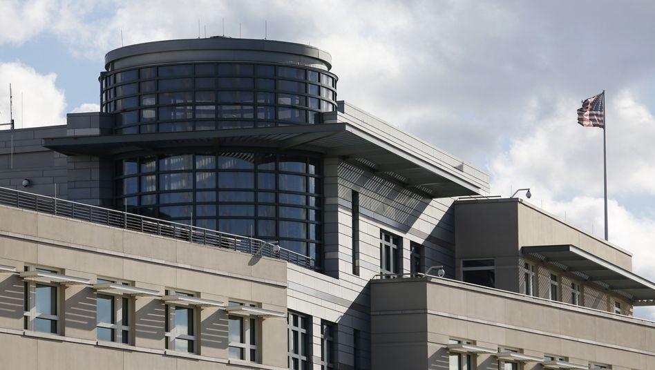 US-Botschaft in Berlin: Ärger über neue Spionagefälle