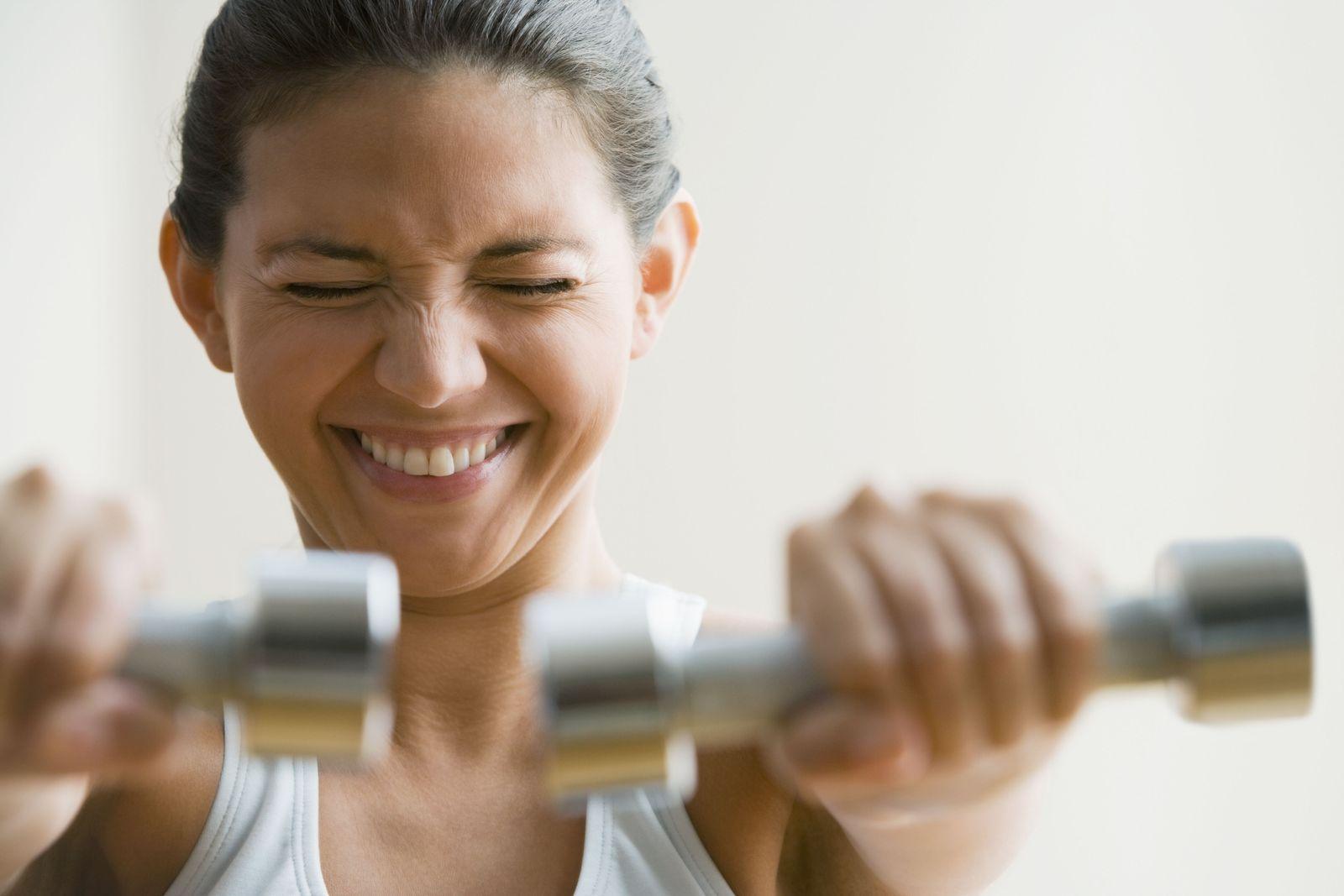 EINMALIGE VERWENDUNG Muskelaufbau / Frauen