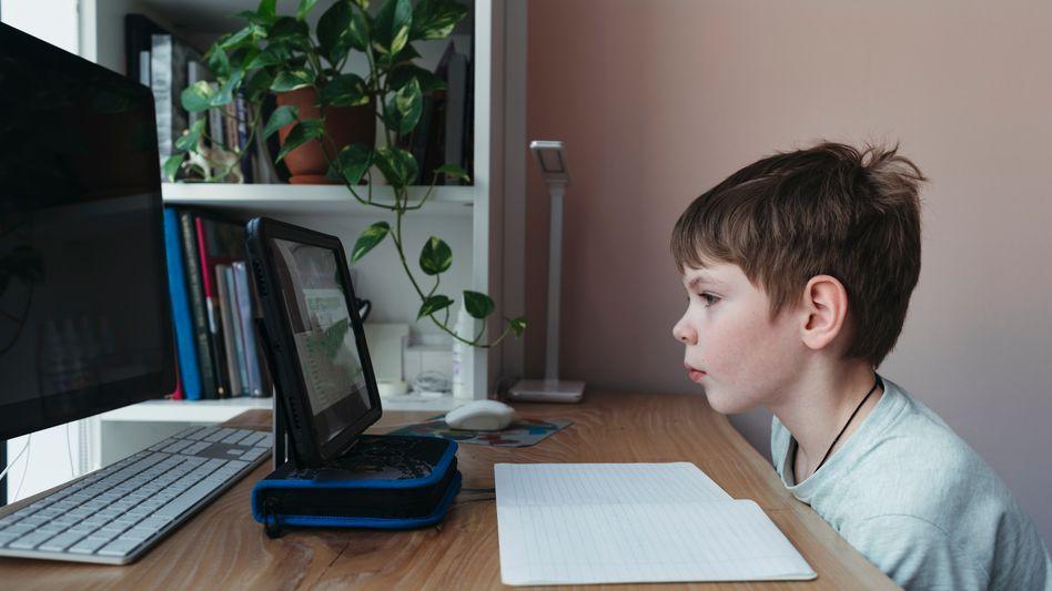 Kind beim Homeschooling (Symbolbild): Unser allerbestes Jahr