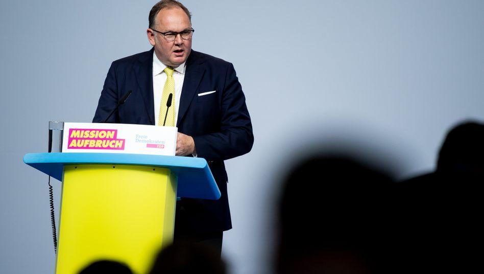 FDP-Schatzmeister Harald Christ: »Sehr erfreulich«