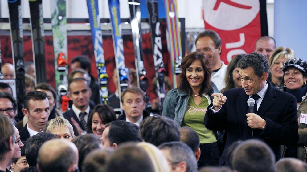 Photo Gallery: Sarkozy Puts Election Campaign Into Gear