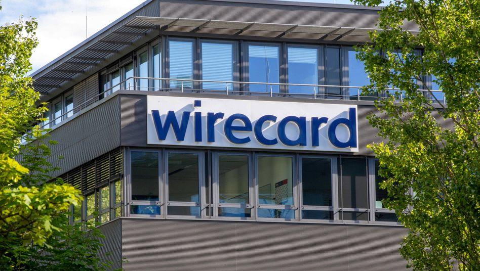 Die Wirecard-Zentrale in Aschheim bei München wird durchsucht