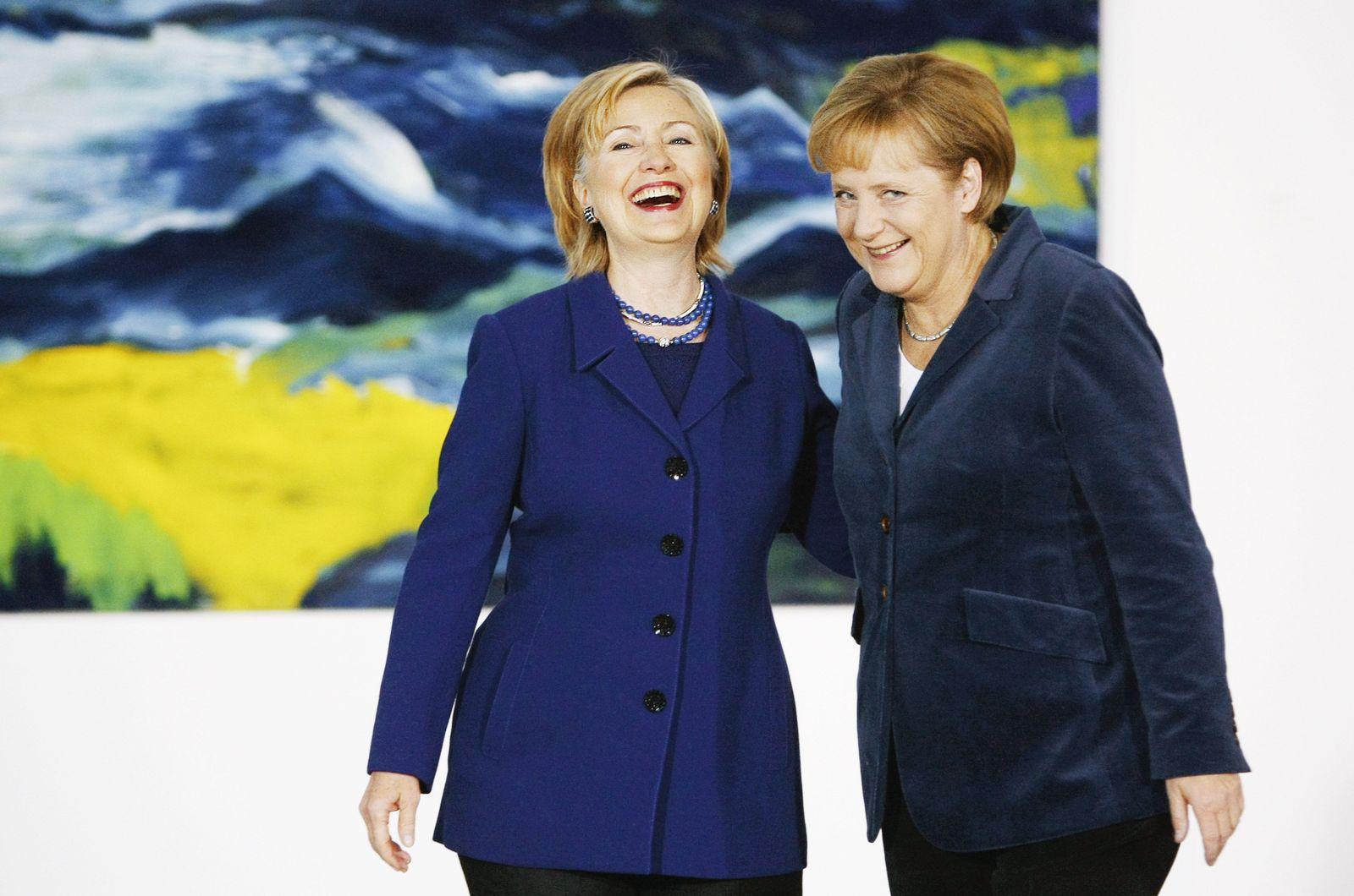 Angela Merkel / Hillary Clinton