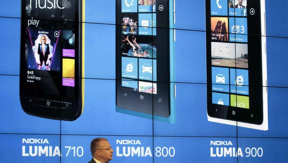 Nokia-Chef Elop präsentiert neue Smartphones: Der Angriff in den USA ist gefloppt
