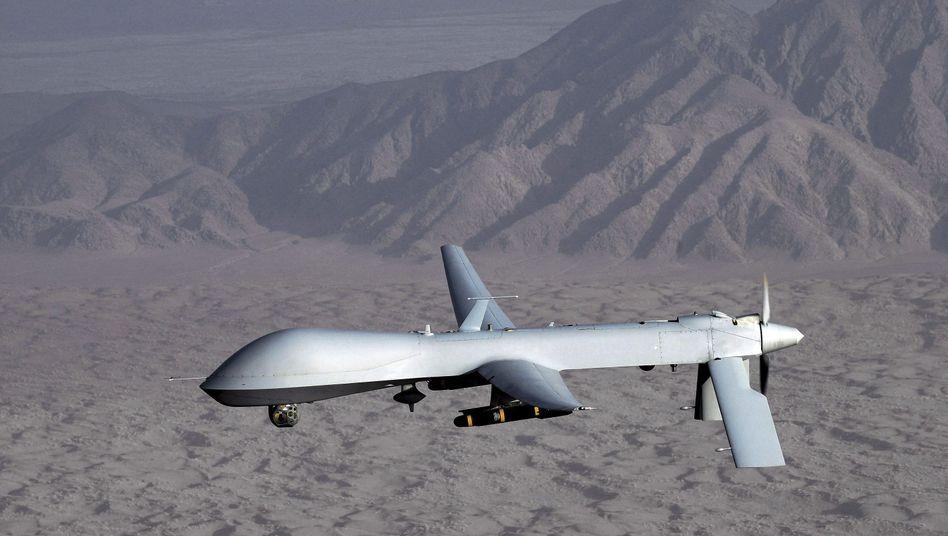 Archivbild einer US-Drohne: Schlag gegen al-Qaida in Pakistan