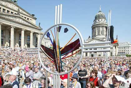 Berliner Treffen: Kirchentag zieht Massen an