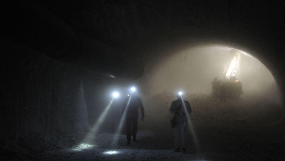 """Besucher im Salzstock Gorleben: """"Eigentlich waren wir schon weiter. Wir hatten Gorleben"""""""