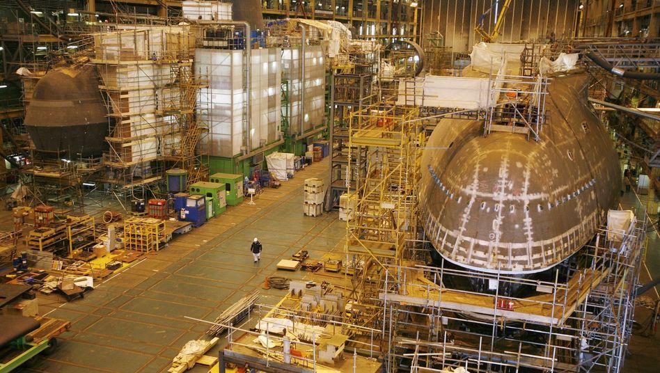 U-Boot-Fabrik von BAE in Nordengland: Riesen-Strafzahlung beendet Ermittlungen