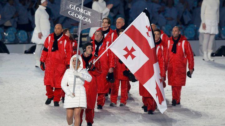 Vancouver 2010: Georgien mit Trauerflor, Gretzky finaler Fackelträger