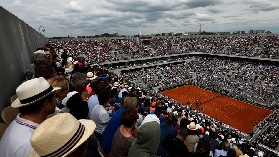 Ein Bild aus seligen Zeiten - French Open 2019