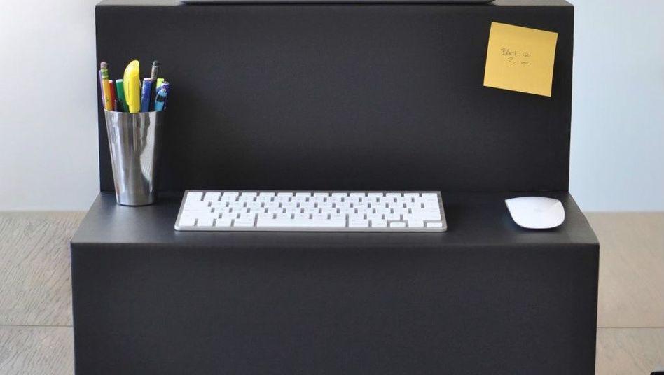 Schreibtischaufsatz Oristand: mehr Flexibilität am Arbeitsplatz