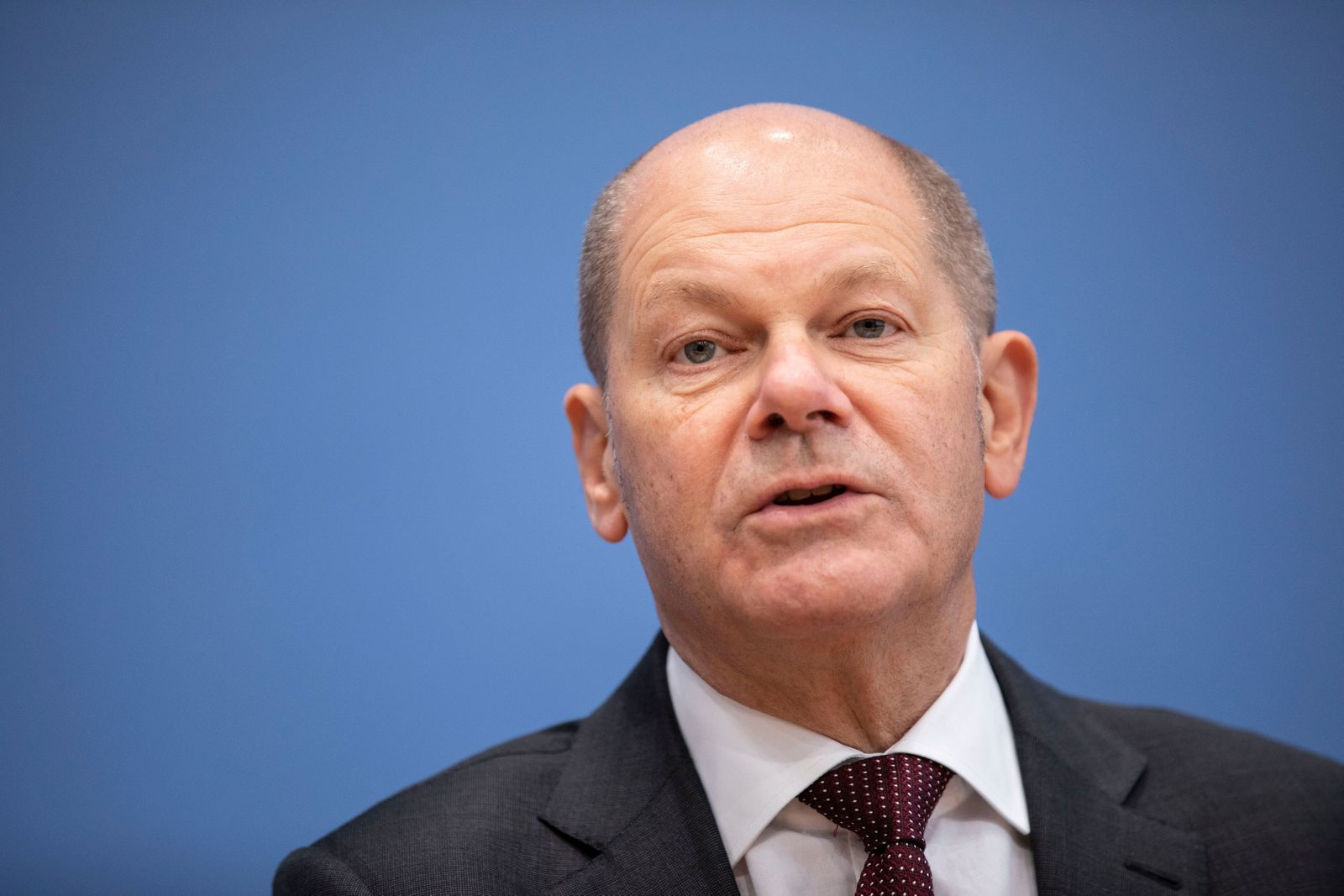 German Government Presents Economic Strategy For Weathering Coming Semi-Lockdown, Berlin, Germany - 29 Oct 2020