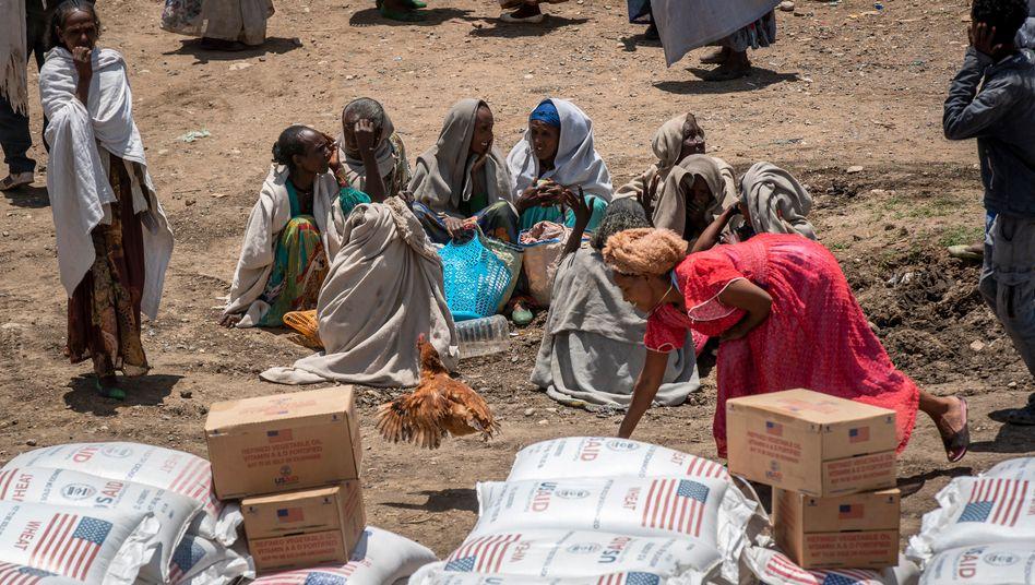 In der äthiopischen Region Tigray herrscht ein Bürgerkrieg (Archivbild)