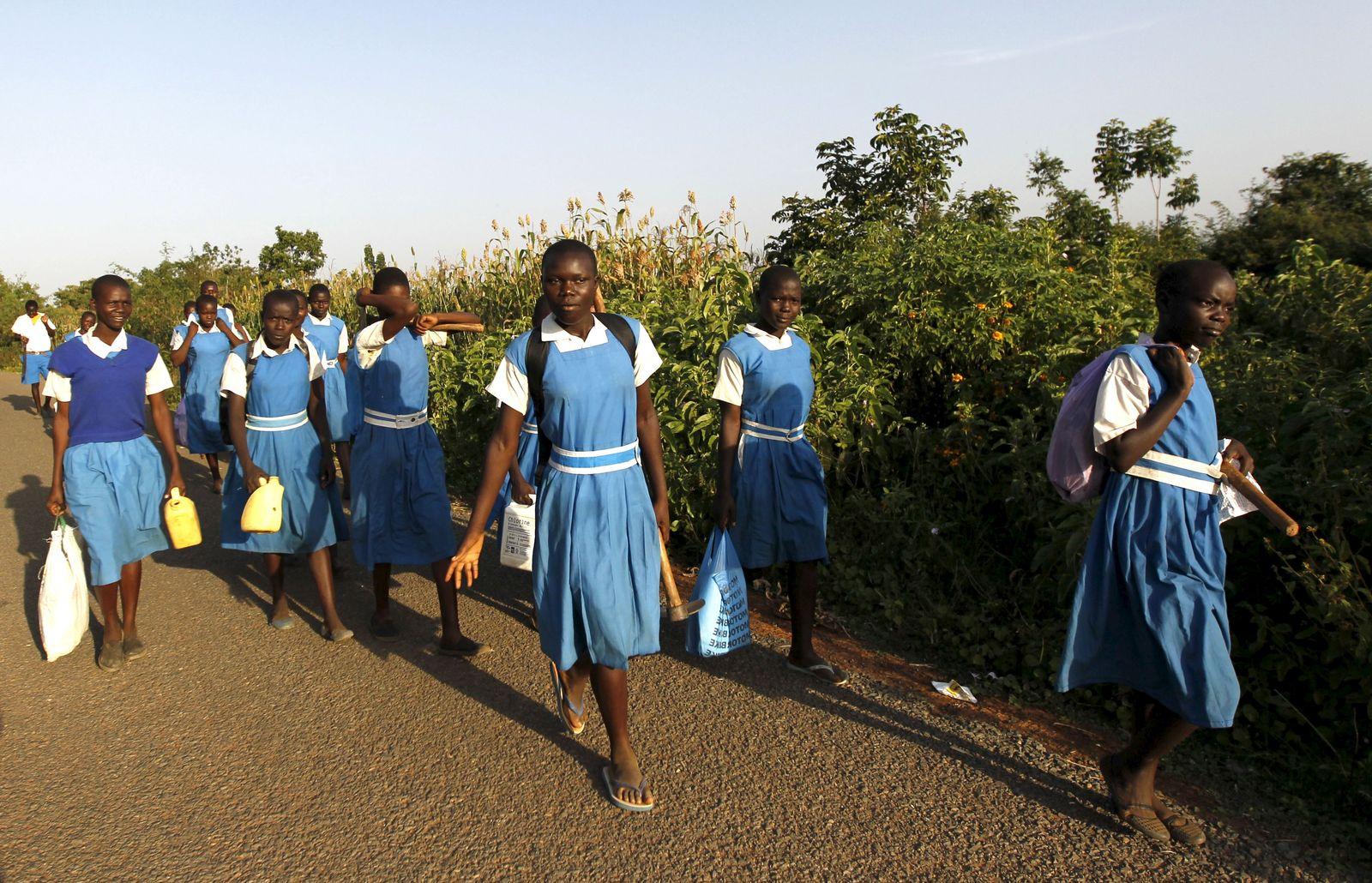 Schüler / Afrika