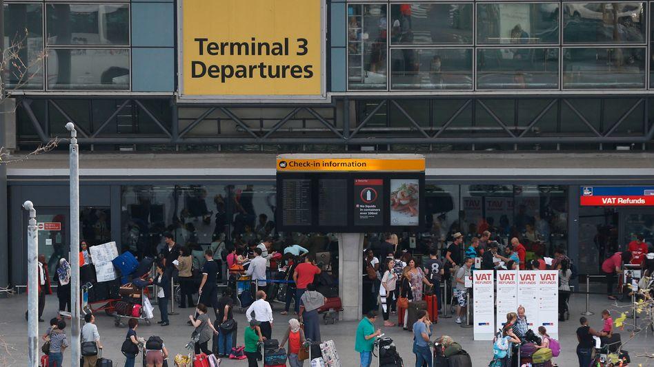 """Flughafen Heathrow in London: """"Phantastische Gelegenheit"""""""