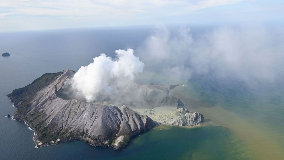 Vulkanausbruch in Neuseeland: 3600 Meter hohe Aschewolke