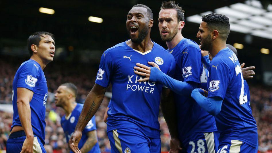 Leicester jubelt über die erste Meisterschaft in der Historie