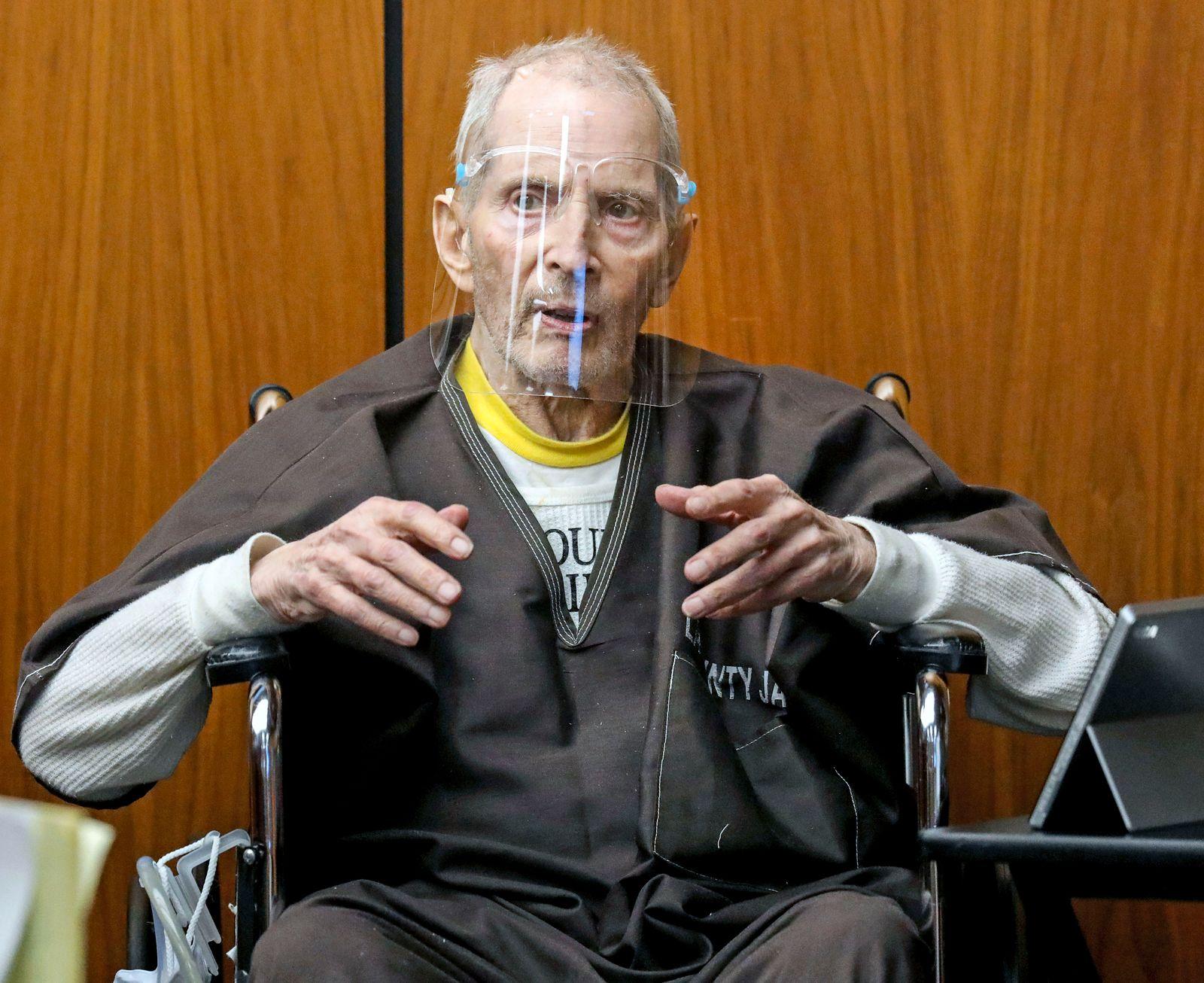 US-Millionär Robert Durst wegen Mordes schuldig gesprochen