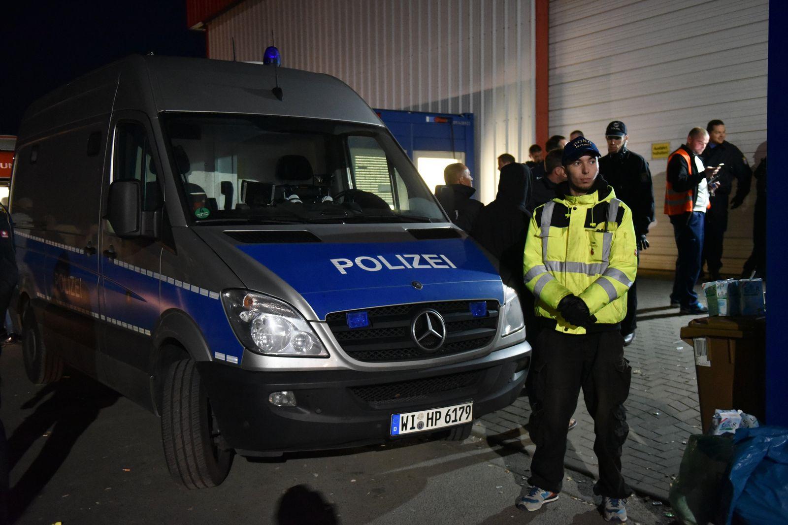 Kassel-Calden Flüchtlingsunterkunft