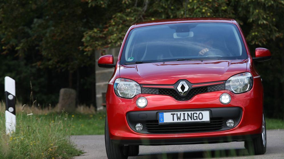 Autogramm Renault Twingo: Stau weg das Zeug