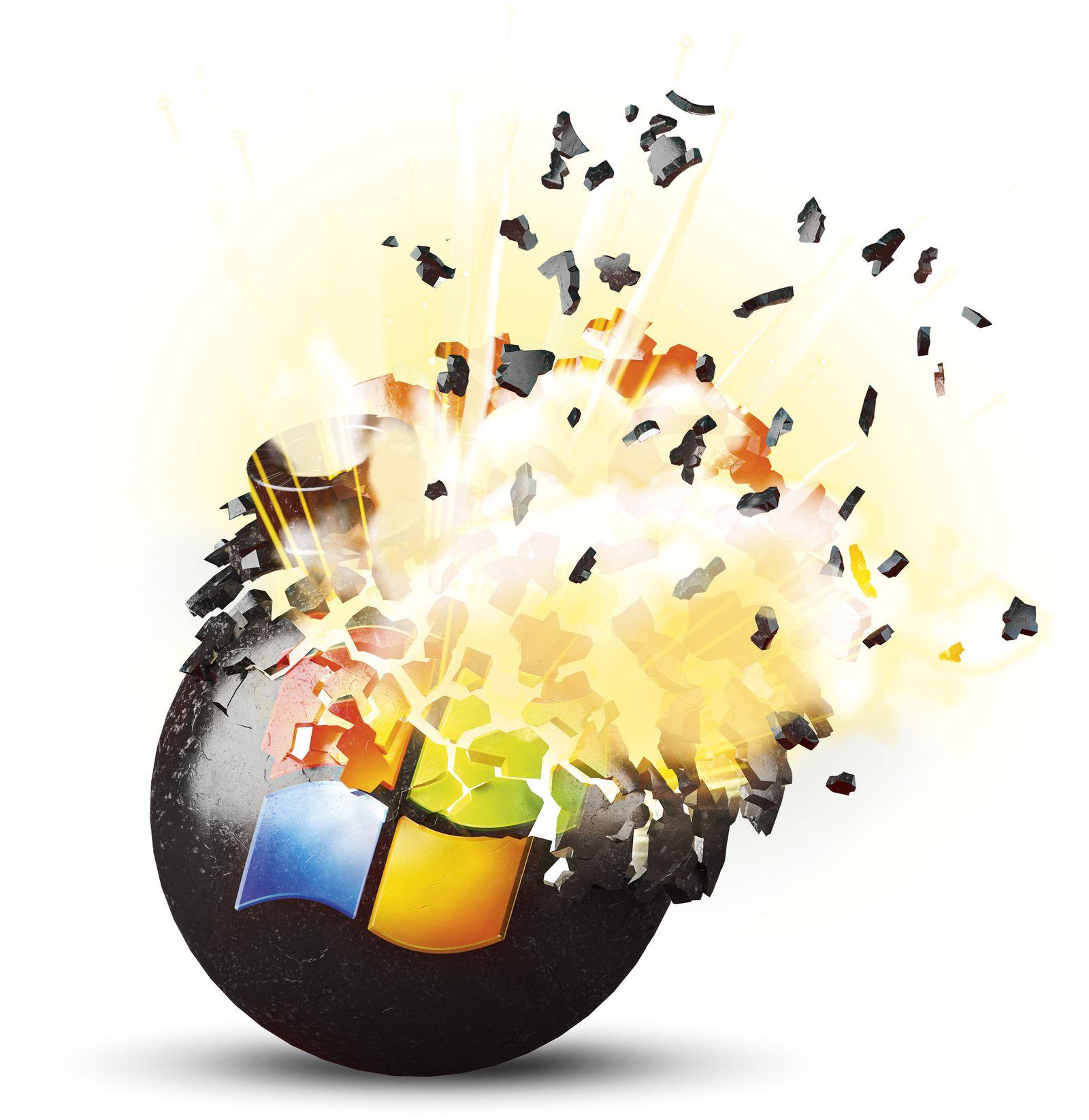 EINMALIGE VERWENDUNG Windows Bombe ct