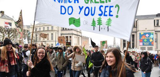 Belgien: Klimaschutz - Schüler wollen in dicken Pullis demonstrieren