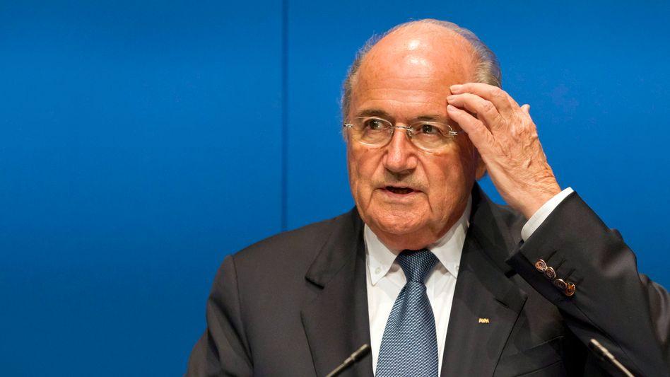 """Fifa-Präsident Blatter: """"In ihren Grundfesten erschüttert"""""""
