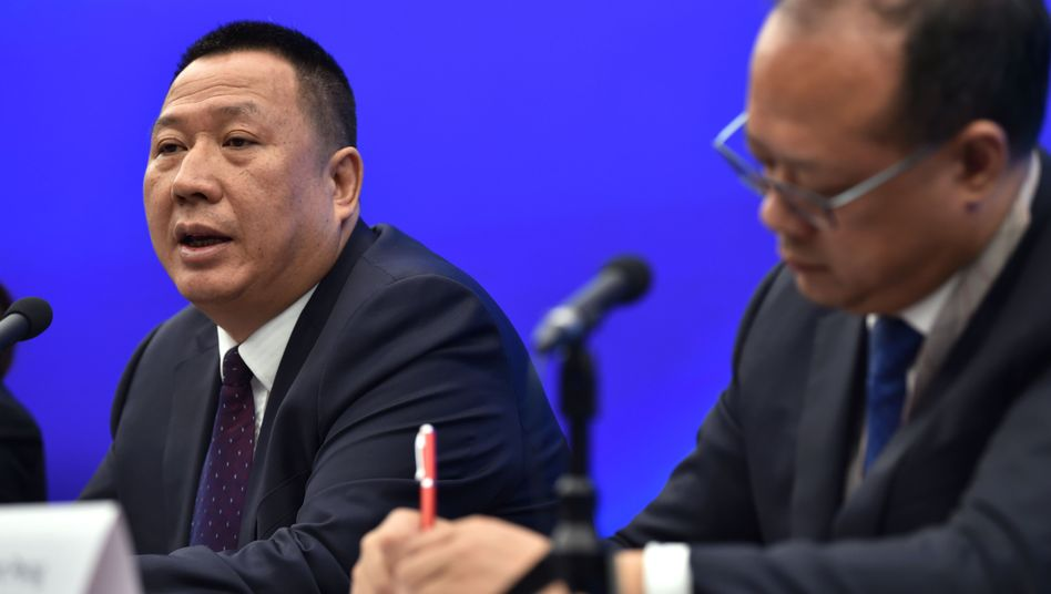 Huawei-Manager Song Liuping (L): Gefährliche Standards