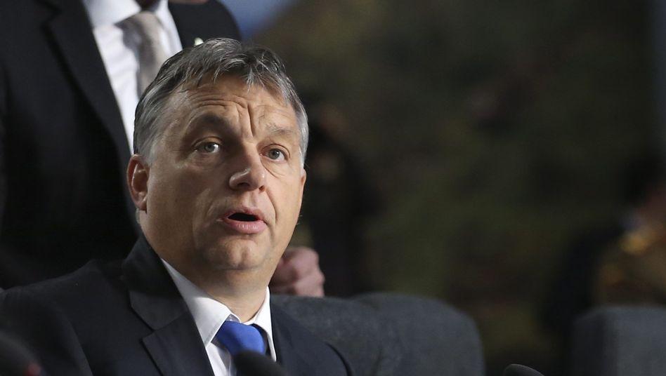 Ungarns Premier Viktor Orbán: Internetsteuer im Haushaltsentwurf