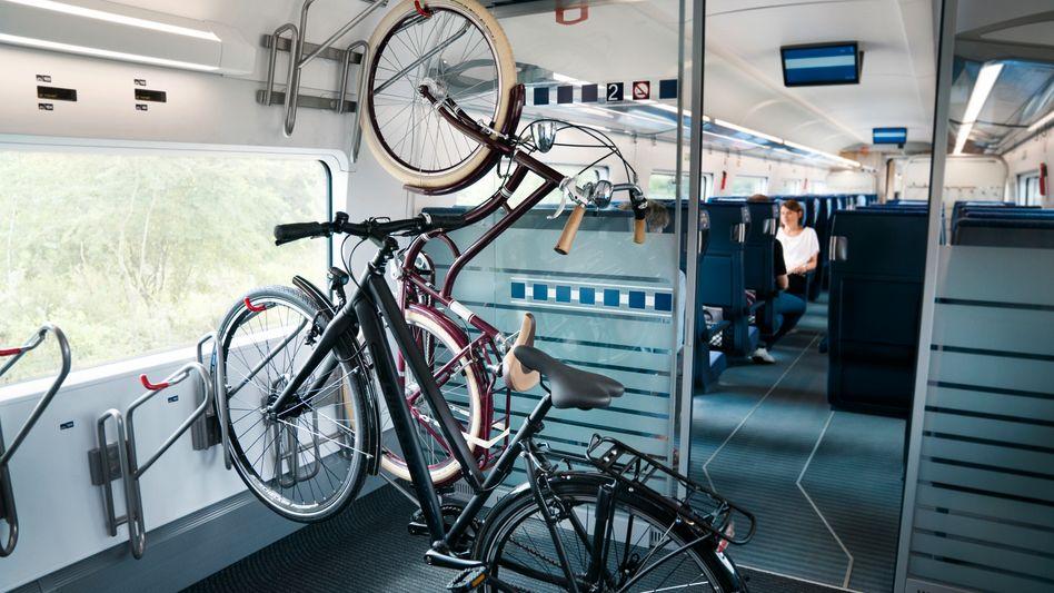 Fahrrad-Transport im ICE 4